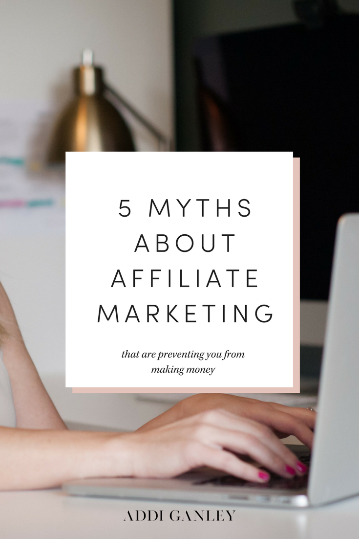 Check out these 5 common affiliate marketing myths and find out how they are preventing you from making money. Are you falling victim to any of these myths?