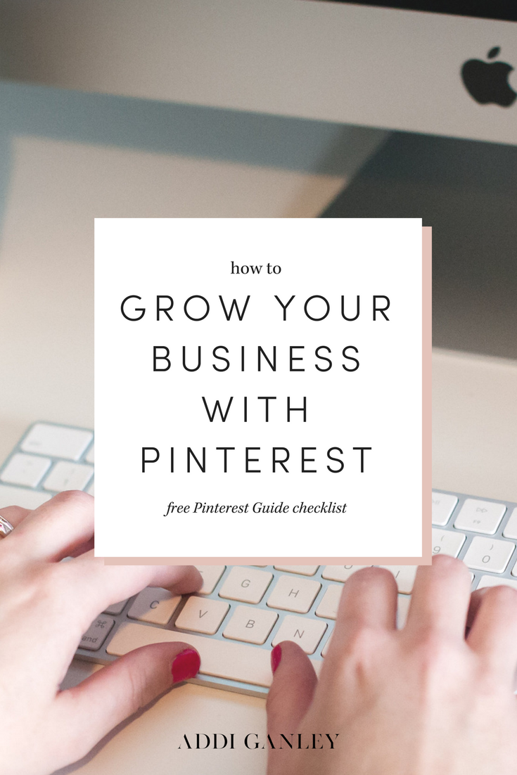 Not sure how to grow your business using Pinterest? Use The Ultimate Pinterest Guide to learn how to lay the foundation to increase your traffic and your income by leveraging your Pinterest audience. Print the free checklist to mark off each completed task!