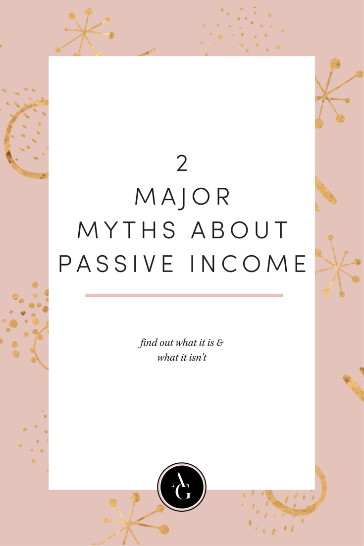 What is passive income? Find out 2 major myths about passive income so that you can finally know the truth.