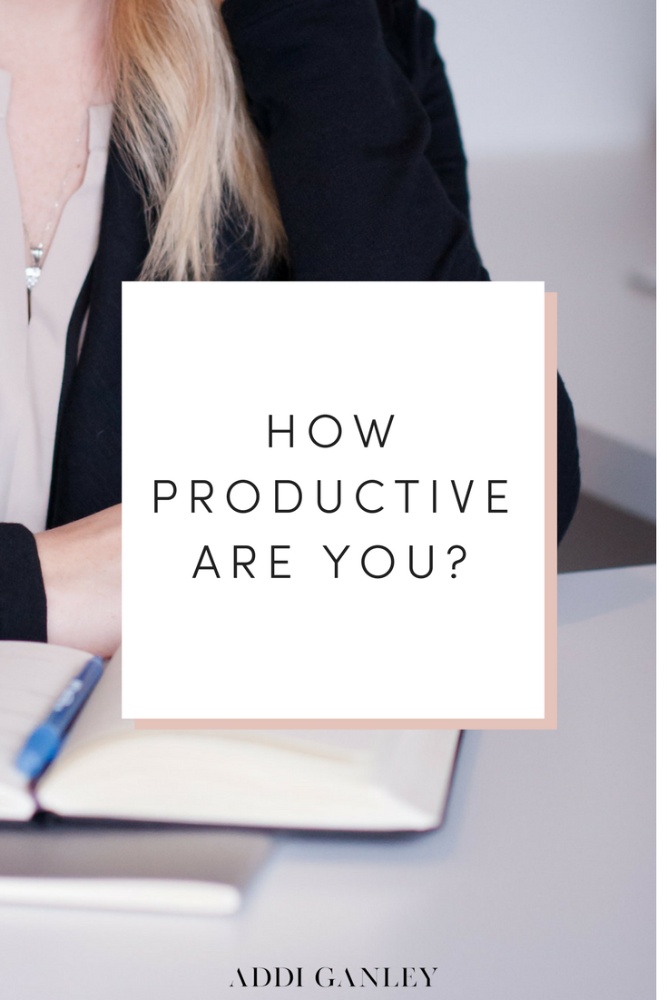 How productive are you?Time if one of the only resources that everyone has the same amount of. How you use it will play a vital role in your productivity. This is especially true for an entrepreneur who works from home and doesn't have a structured schedule. You have the freedom to make your own hours and decide how you spend your time, but are you being productive with it?