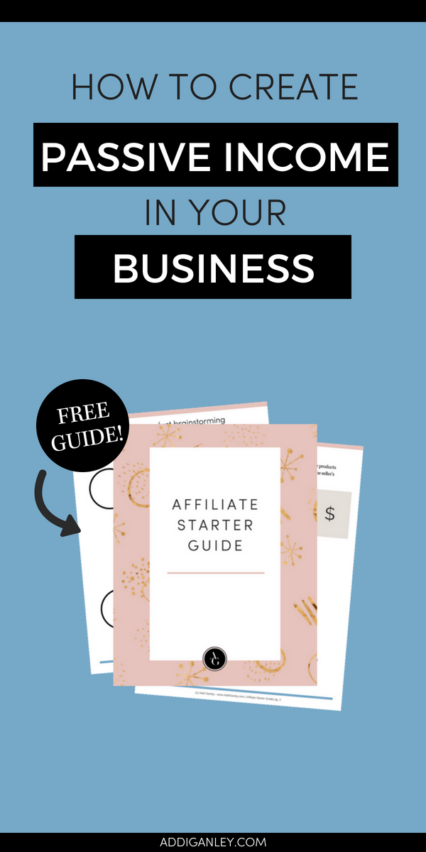 Do you want to create passive income in your business? Find out how easily you can setup a system for your blog or business to earn money on autopilot. Click over now to watch the video and download the FREE guide!