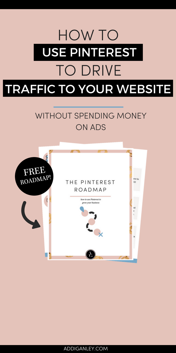 Need help attracting your target audience? Use Pinterest! Find out how you can drive a ton of traffic to your website using Pinterest. Plus, click over now and get my FREE Pinterest Roadmap to learn how to use #Pinterest to grow your business.