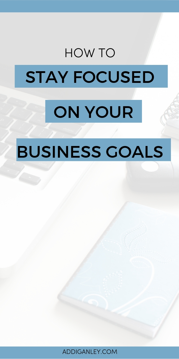 It can be hard to stay focused on your business when you have so many ideas and goals you want to hit. If you are feeling overwhelmed with how to actually stay focused to attain your business goals then click over now and get my step-by-step method and action plan!