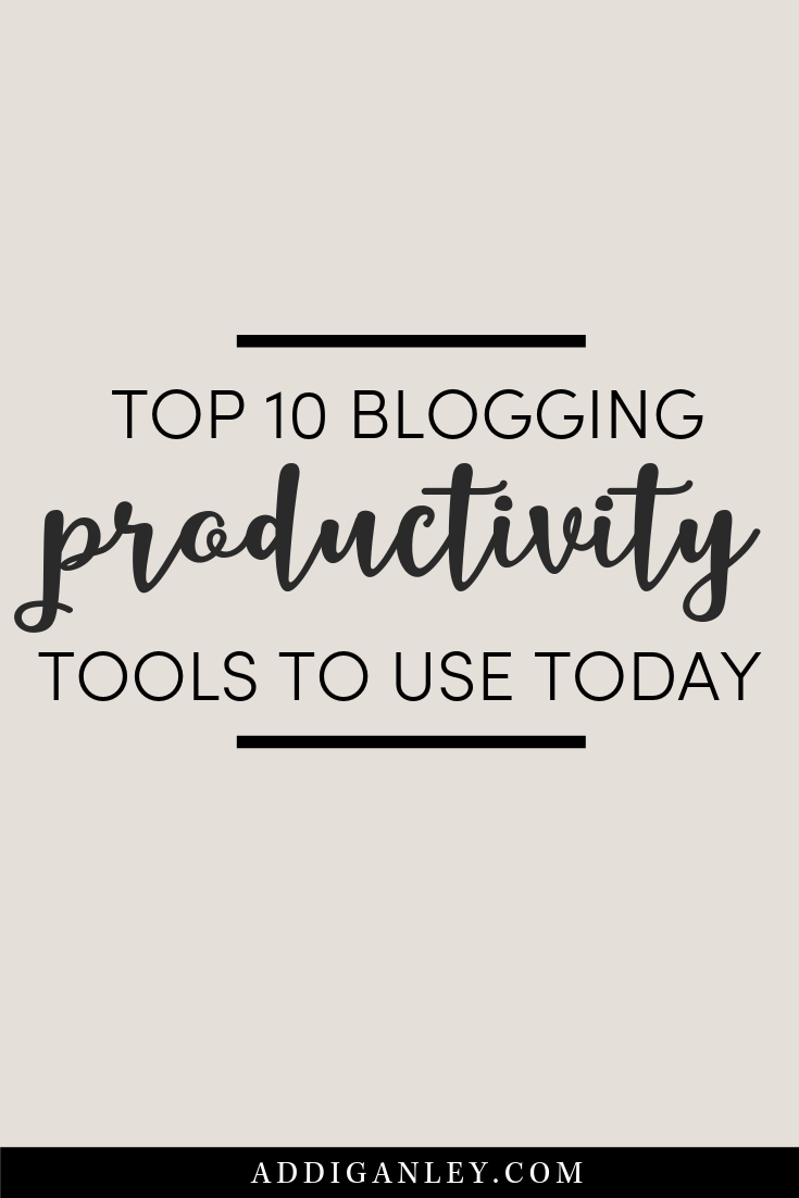 Do you always feel like you don't have enough time? These top 10 blogging productivity tools will help you to get more done in less time. It's time to stay on track, streamline your workflows and be more productive with your blog.