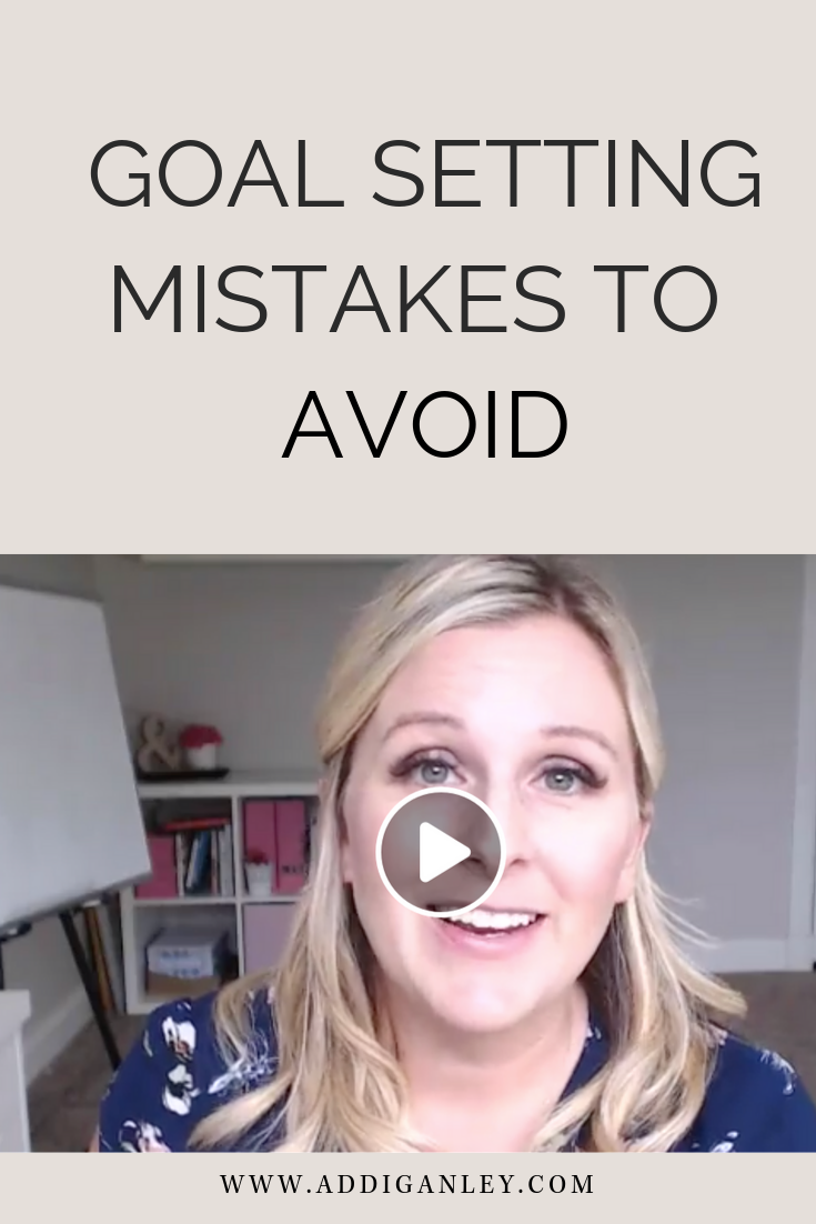 Tired of setting blogging goals that you don't achieve? Check out the top 3 goal setting mistakes you need to avoid in order to start making your dreams your reality.