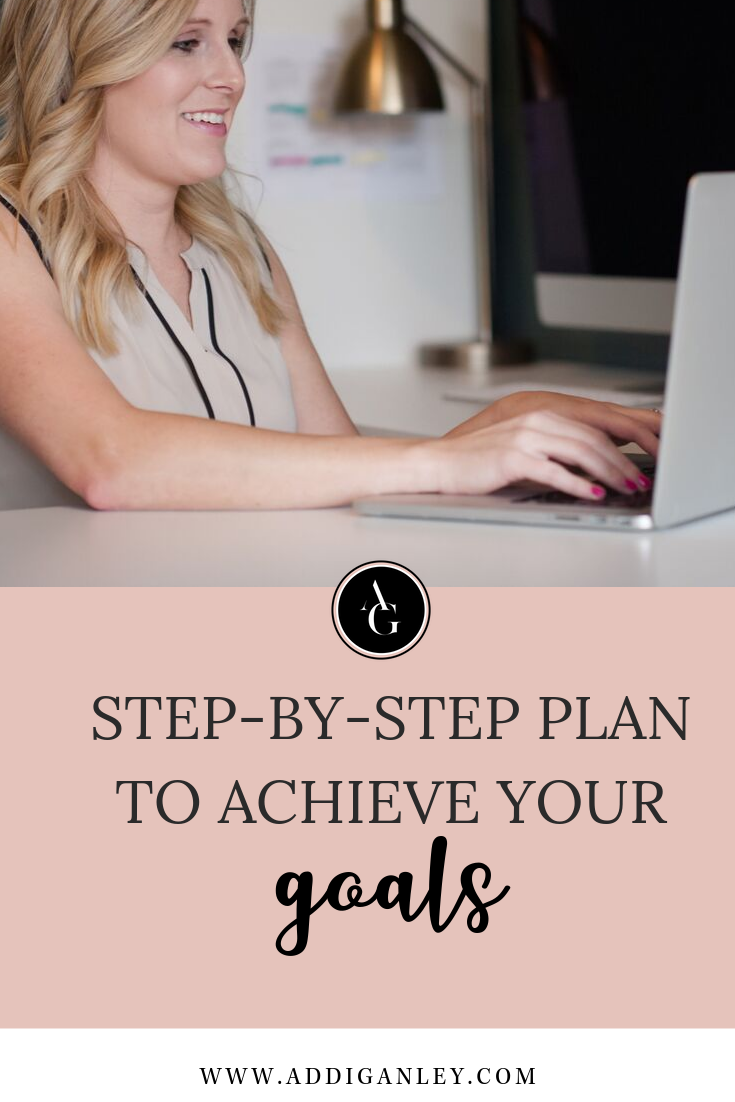 The best way to achieve your goals is to break it down into an action plan of weekly and daily tasks to complete. Watch this video to see how I break down a goal into doable steps that you can follow.