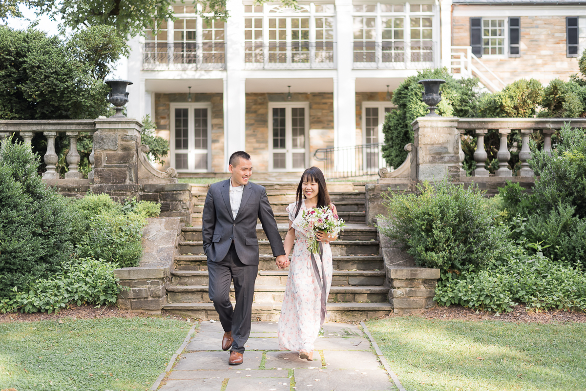 Glenview-Mansion-Engagement-Bride-Groom-Walking.jpg