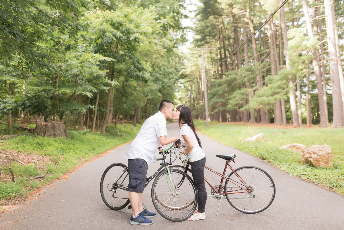 Glenview-Mansion-Engagement-Biking-Kiss.jpg