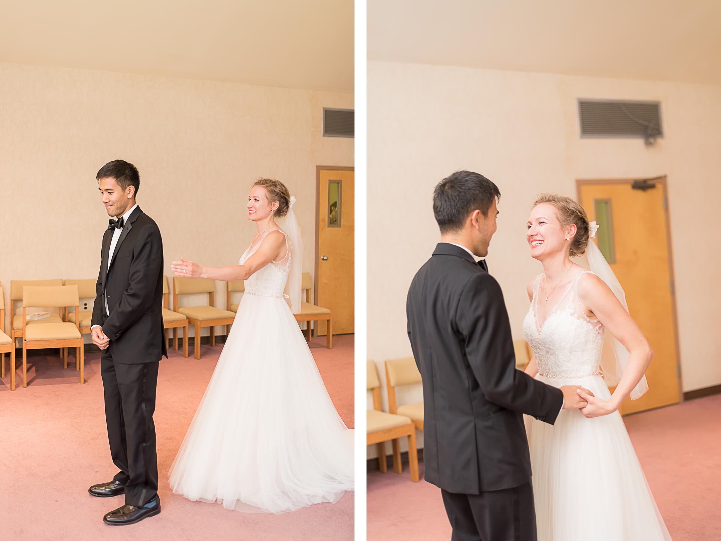Elkridge-Furnace-Inn-Wedding-First-Look-Groom