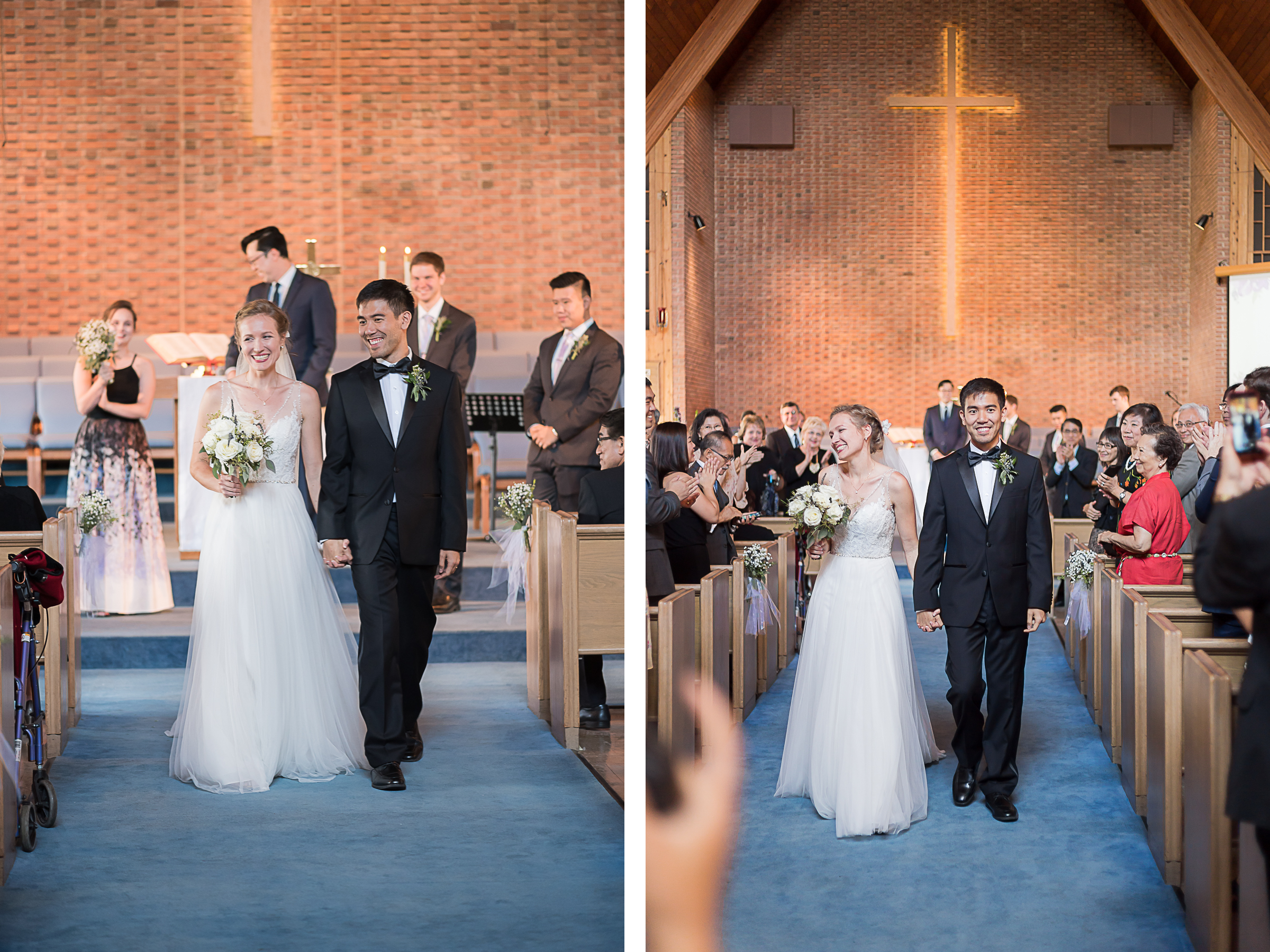 Elkridge-Furnace-Inn-Wedding-Ceremony-Bride-Groom-Recessional