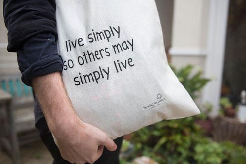 Tote bags - 100% certified organic cotton, 120 gsm organic cotton. Soft, lightweight yet hard-wearing