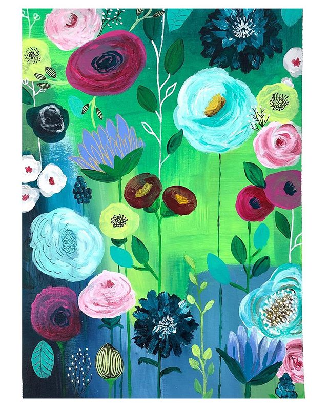 Another flower painting...