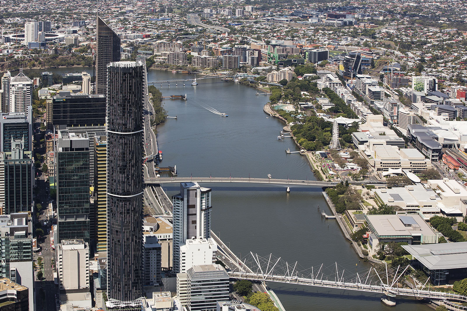 Brisbane aerial photography