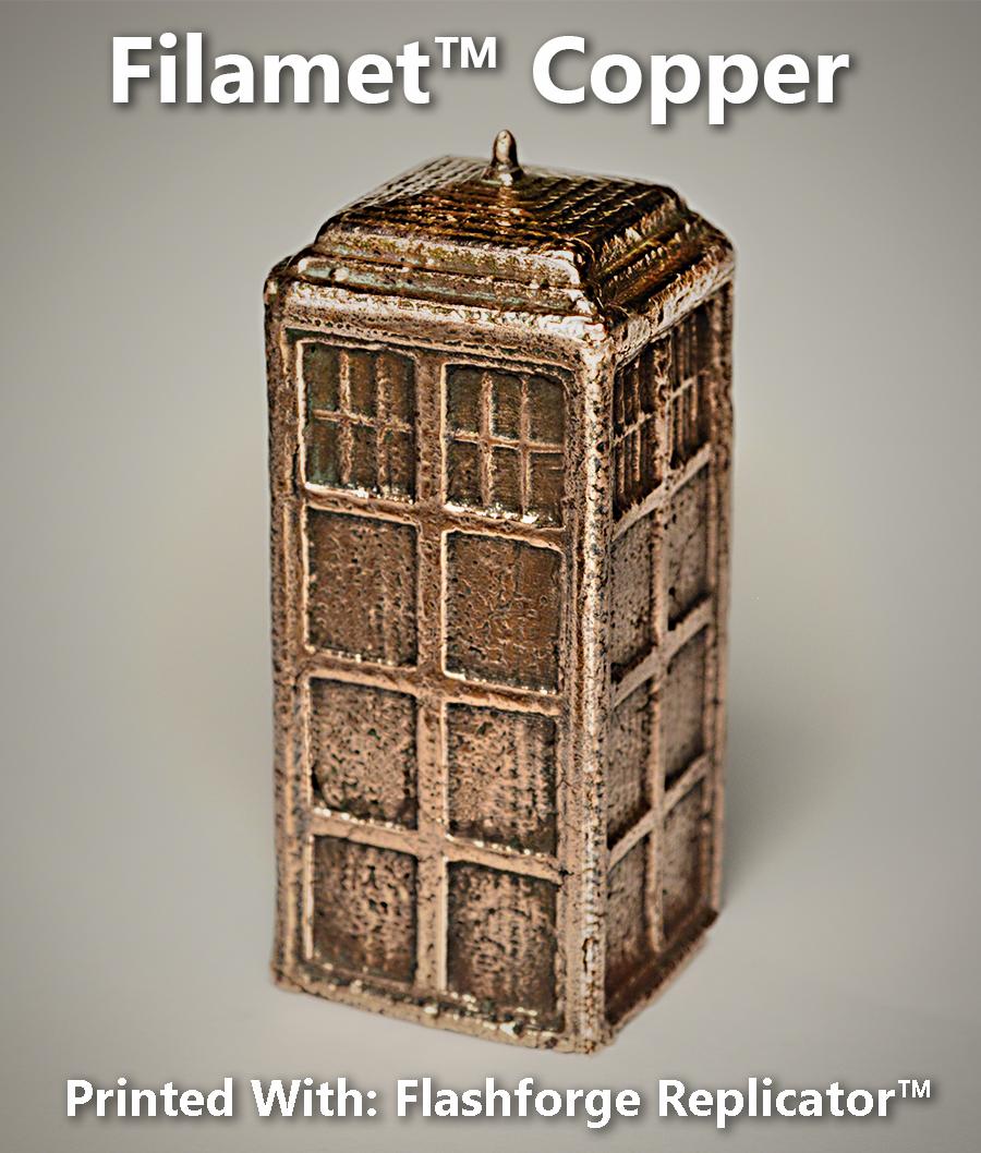 Pure Copper Tardis