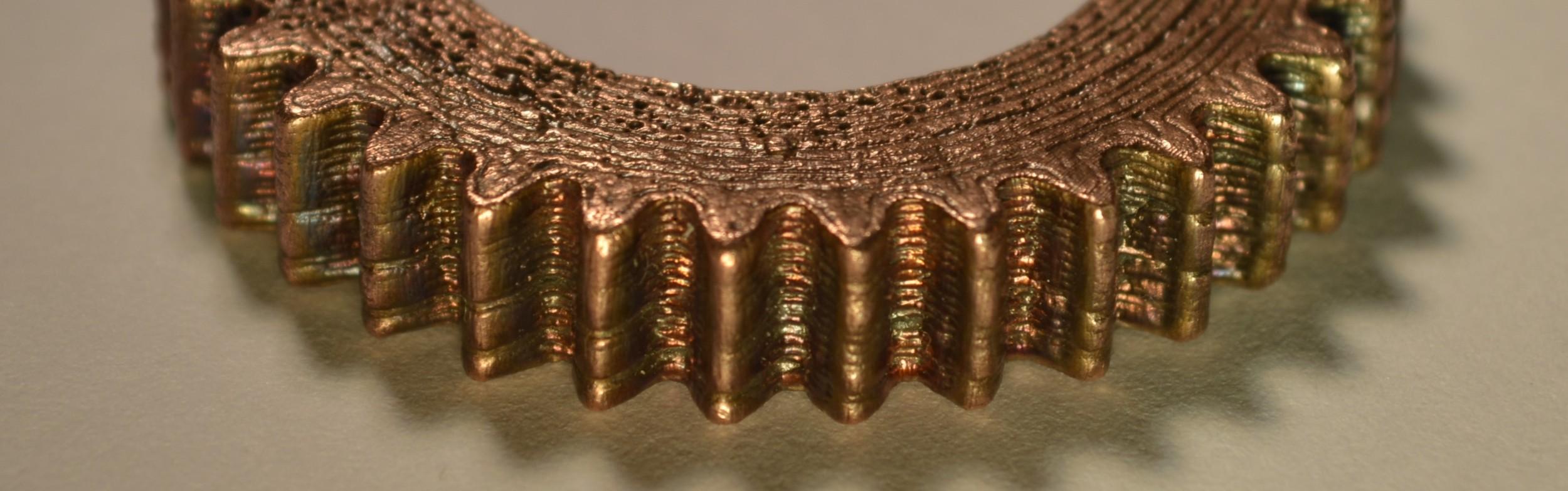 Pure Copper Gear