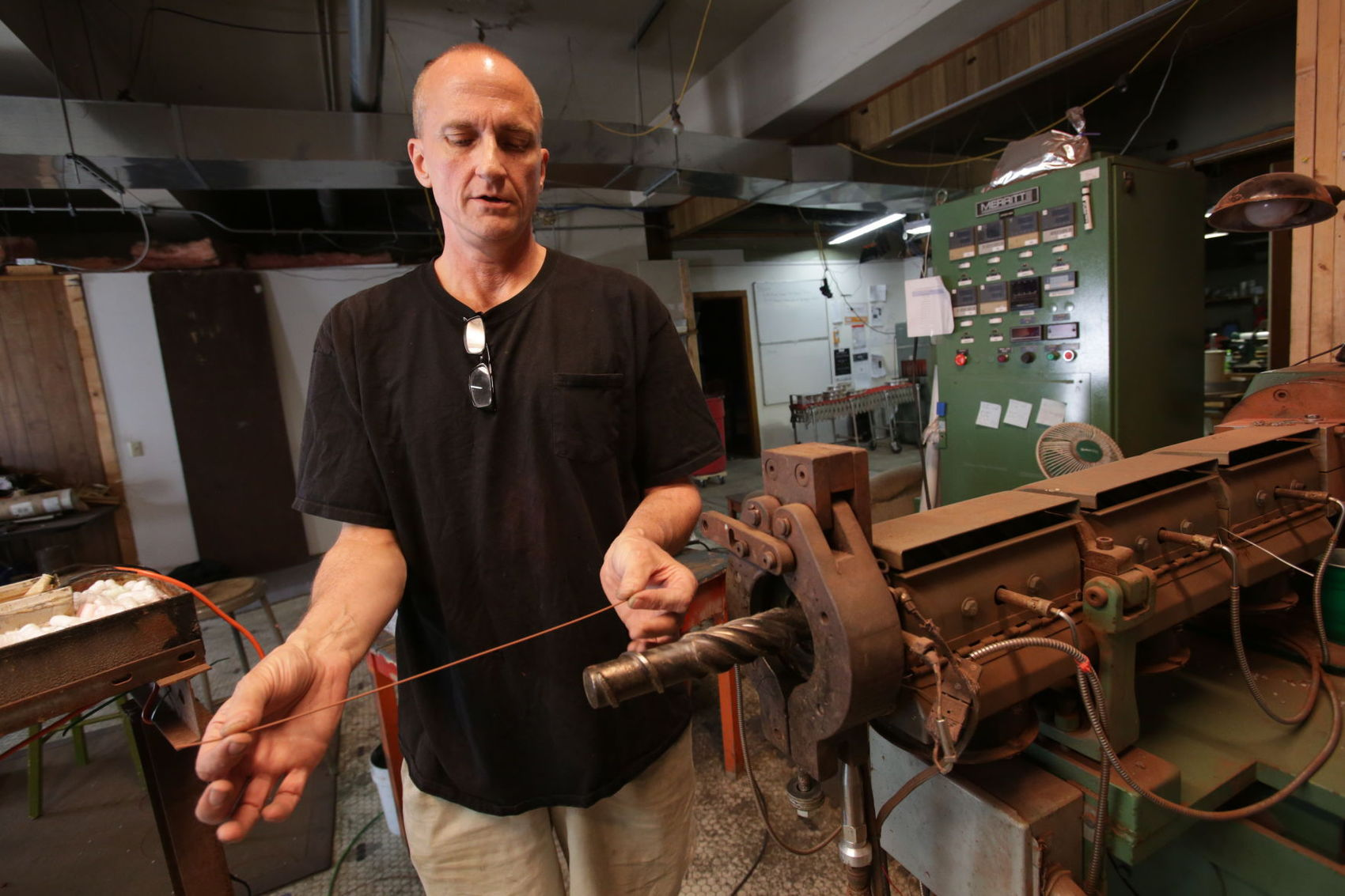 The Wisconsin State Journal - August 20, 2017 - Wisconsin State Journal: A Stoughton entrepreneur has found a way to print metal without a million dollar 3D printer.
