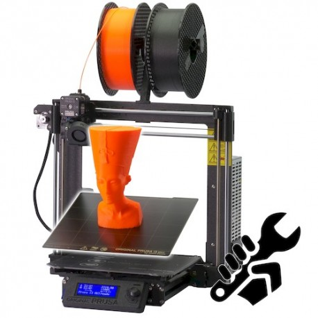 Prusa i3 MK3 - Automatic mesh bed leveling. Heatbed with cold corners compensation – for warpless 3D printing from any material.Hassle free PEI print surface - no glass, no glue, no ABS juicePrice: $750