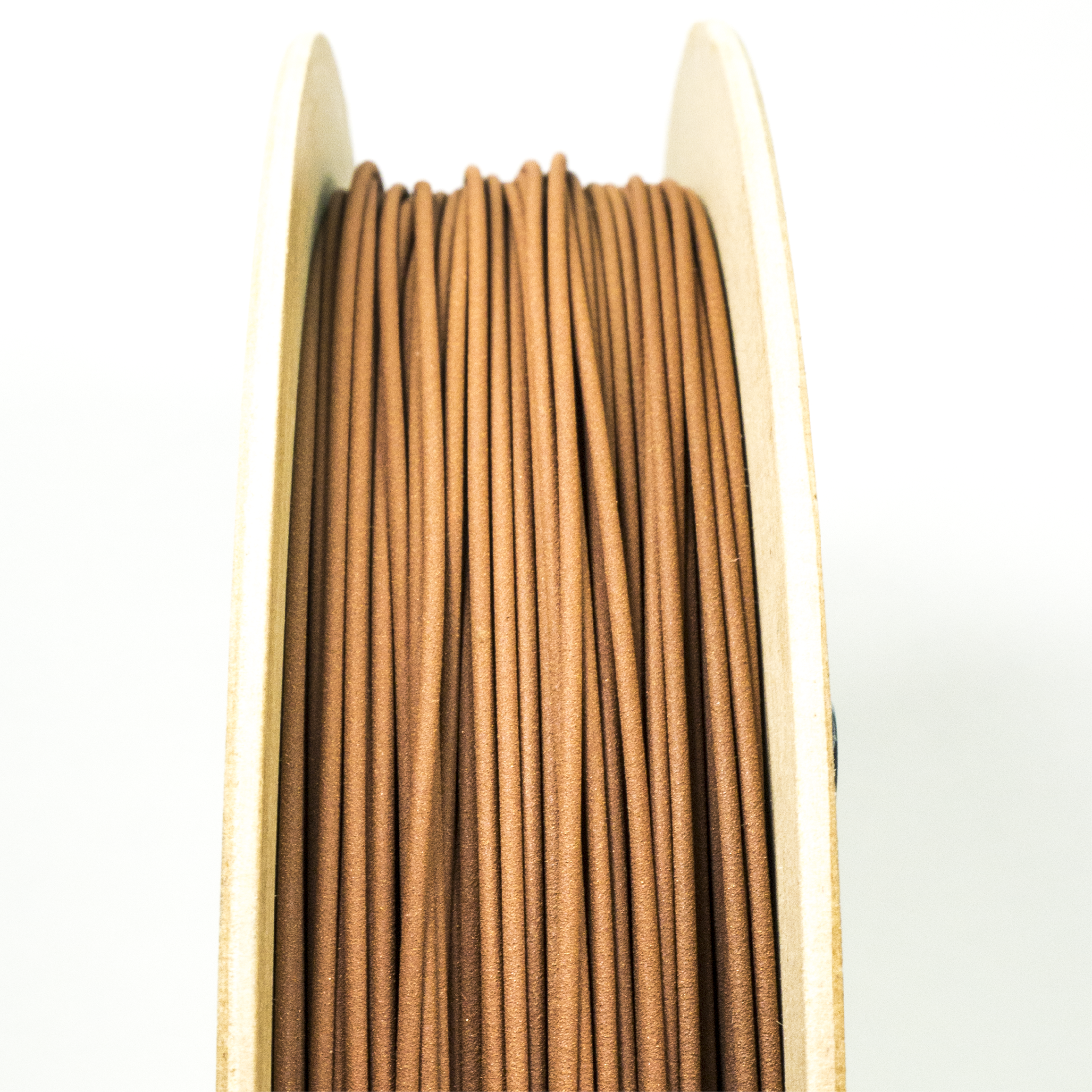 Copper Filament - Copper Filamet™ contains around 90% metal. Filamet™ enables any Fused Filament Fabrication printer to produce metal objects. Once fired in a kiln, the result is 100% metal.