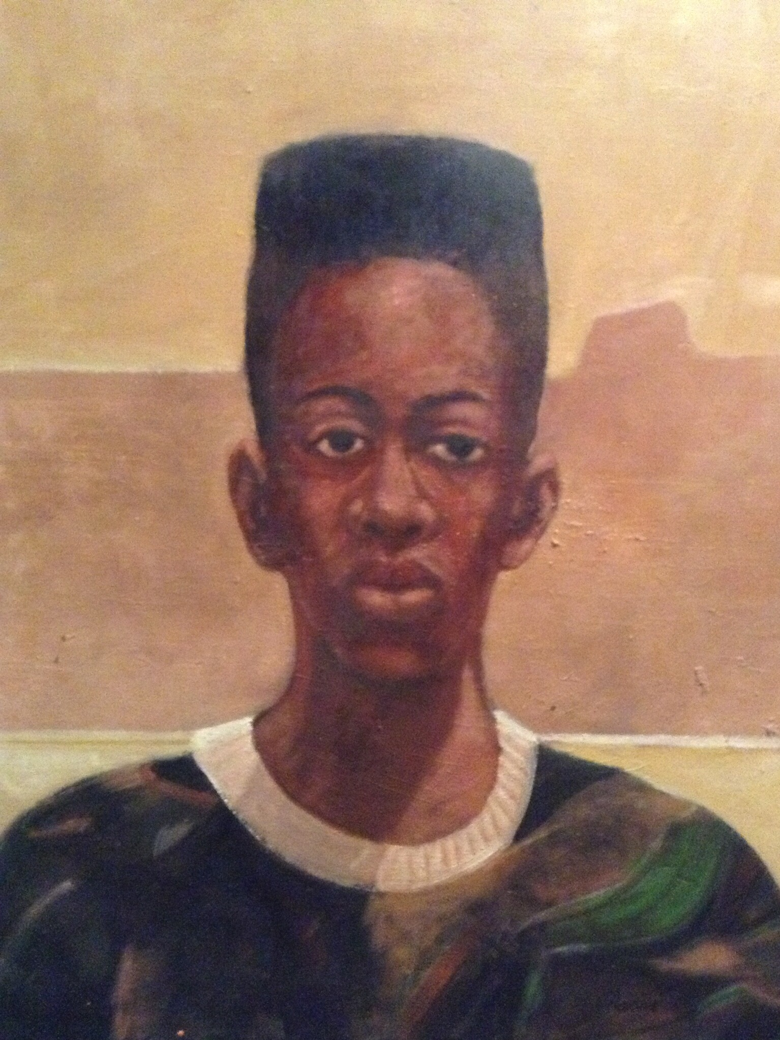 """Karriem, oil on canvas, 18"""" x 14"""""""