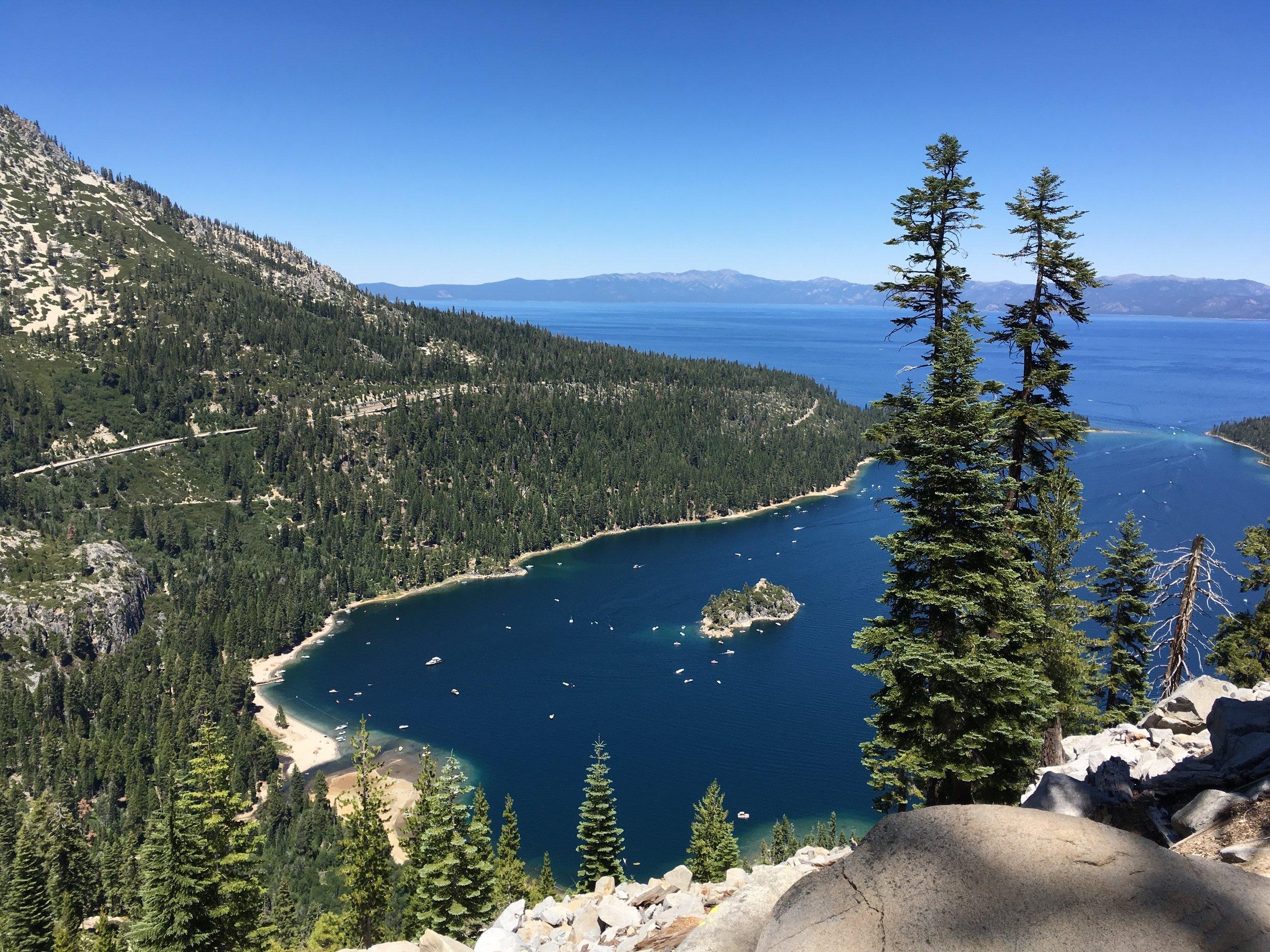 Lake Tahoe, California - July 2016