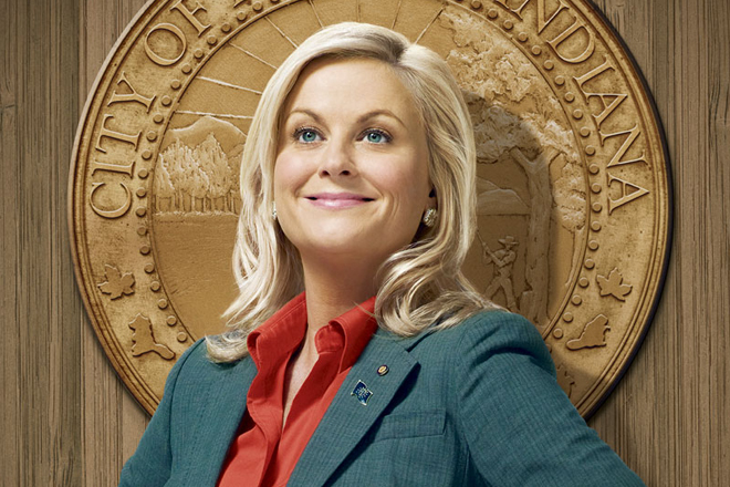 Fictional  Leslie Knope  was a GREAT amplifier.