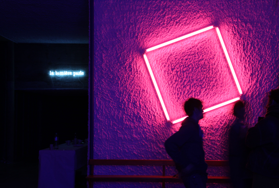 Copy of Fluo Square Pink, 2012
