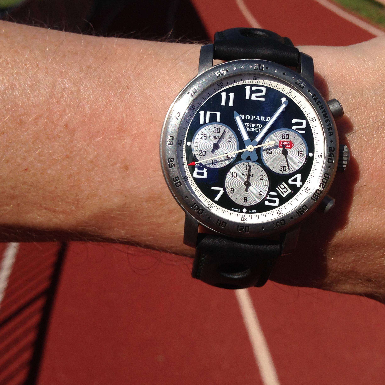 Houston, Texas - USA: Chopard on Track Field