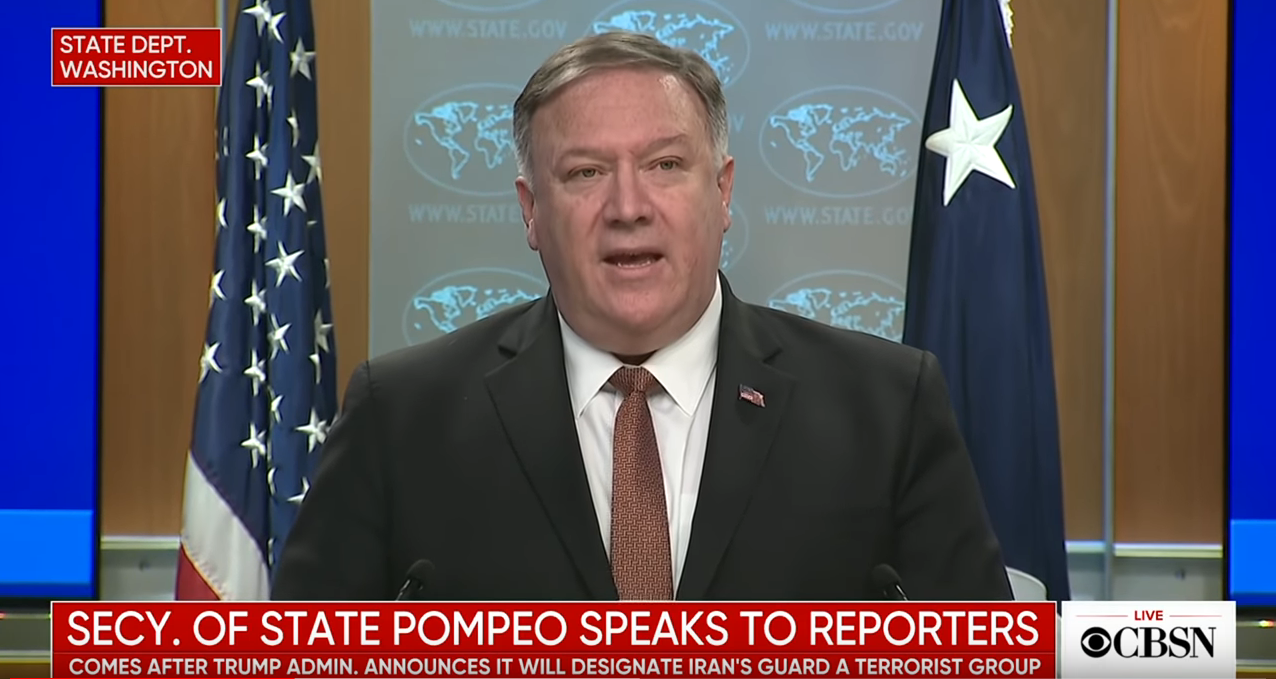 Secretary of State makes the statement live  - CBS