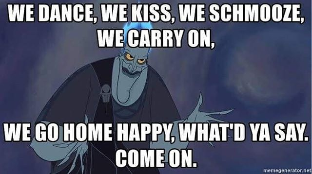 Hades has the right idea 😉 click the link in our bio to get your tix for a good time 😈