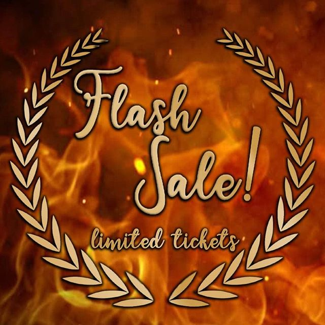 FLASH SALE | The gods have answered your prayers! 🙏 After popular demand, we're releasing a LIMITED number of 🎟tickets🎟 until MIDNIGHT tonight! Jump on the link in our bio, hook yourself up, and we'll see you on Friday, troublemakers 😈