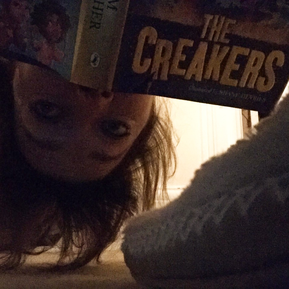 Just checking under the bed for creakers before I go to sleep...