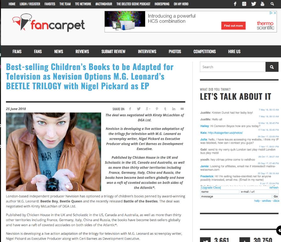 Fancarpet  News Piece