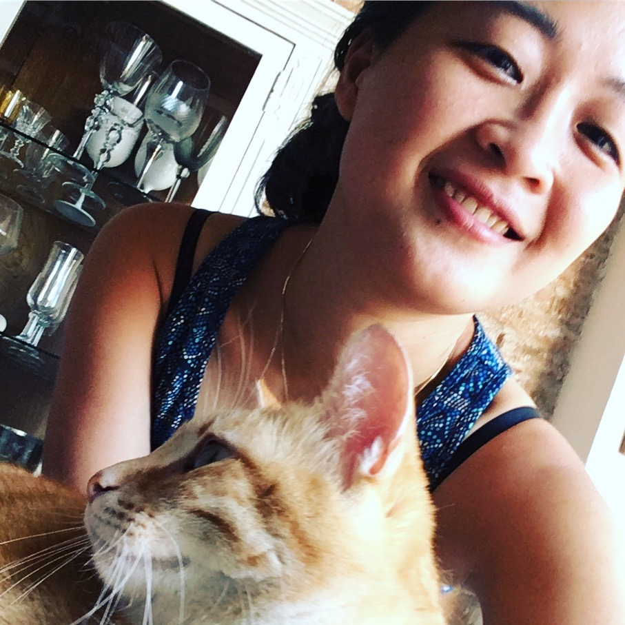 We-fie, me and the cat