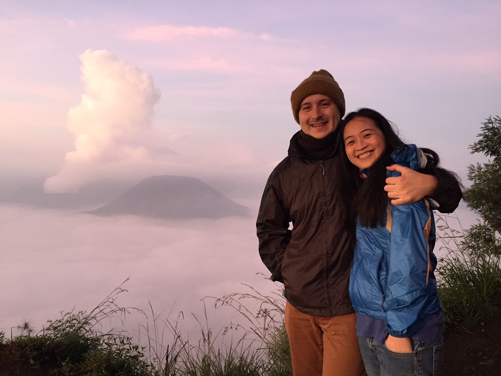 Taken during our extended honeymoon in Java, Indonesia