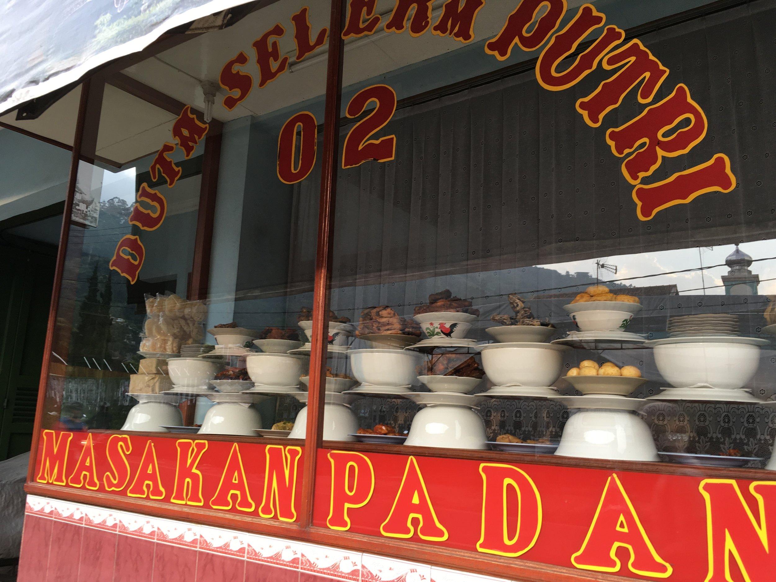 A warung in Java