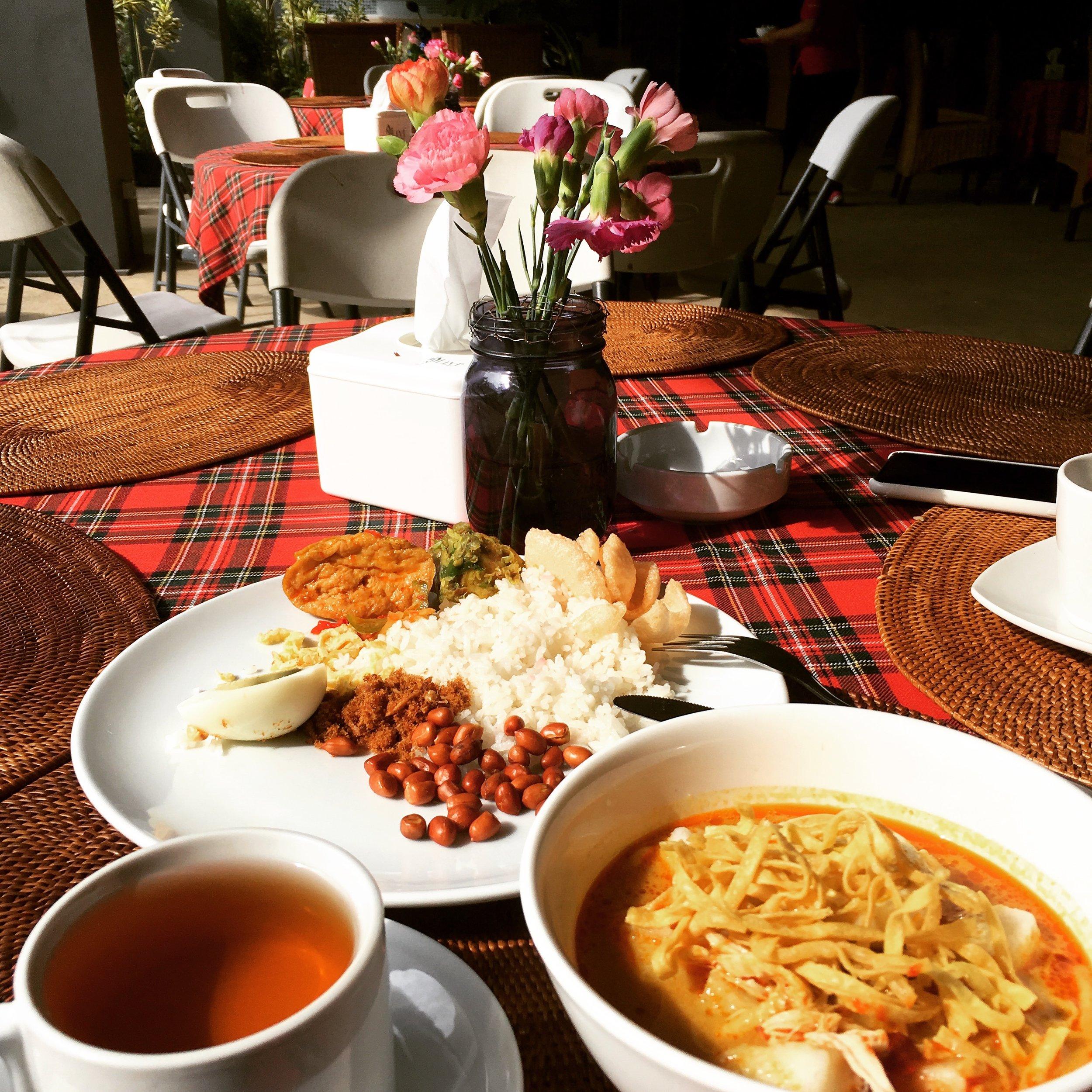 Soto soup (bottom right corner)