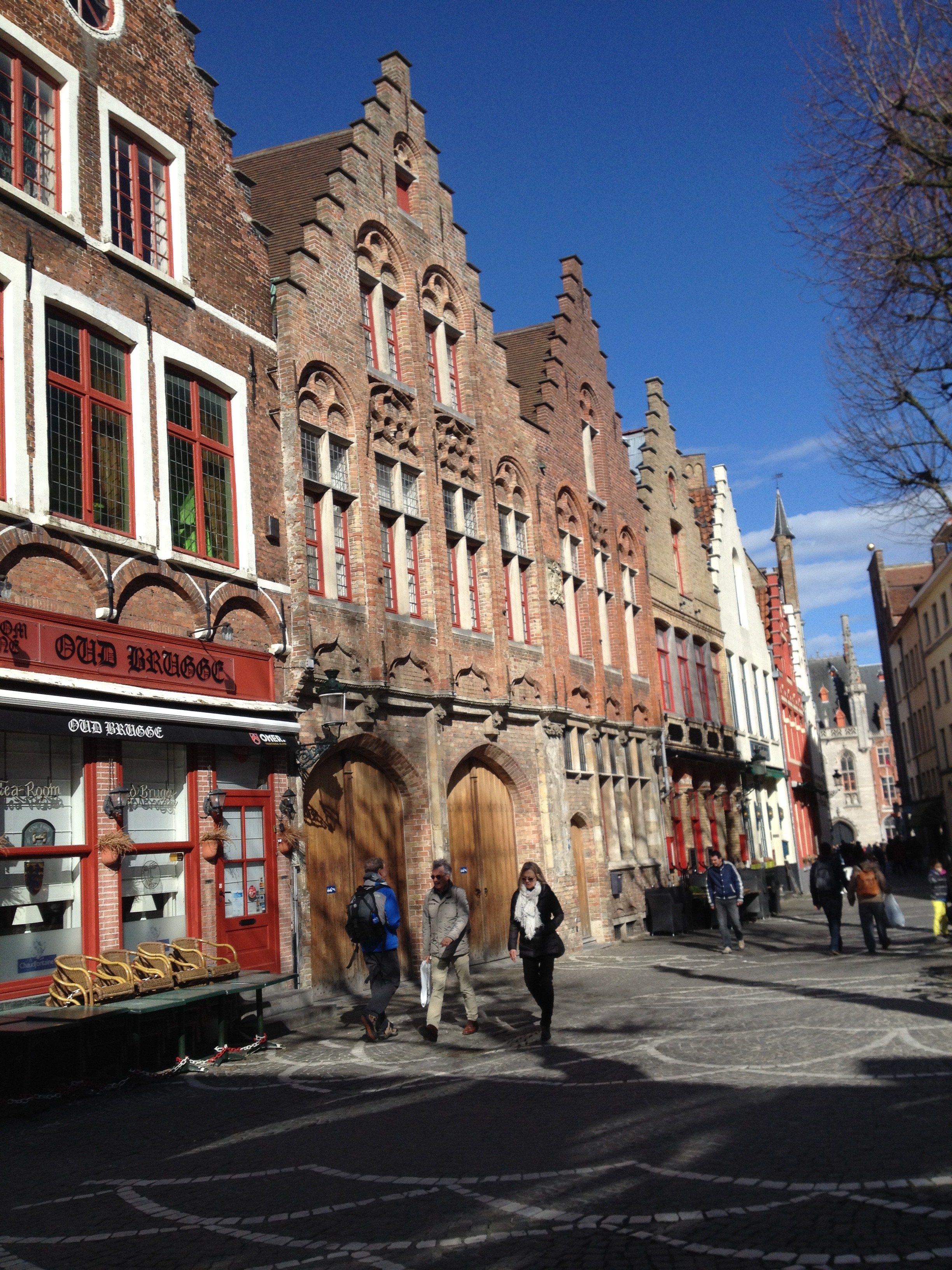 The streets of Brugge