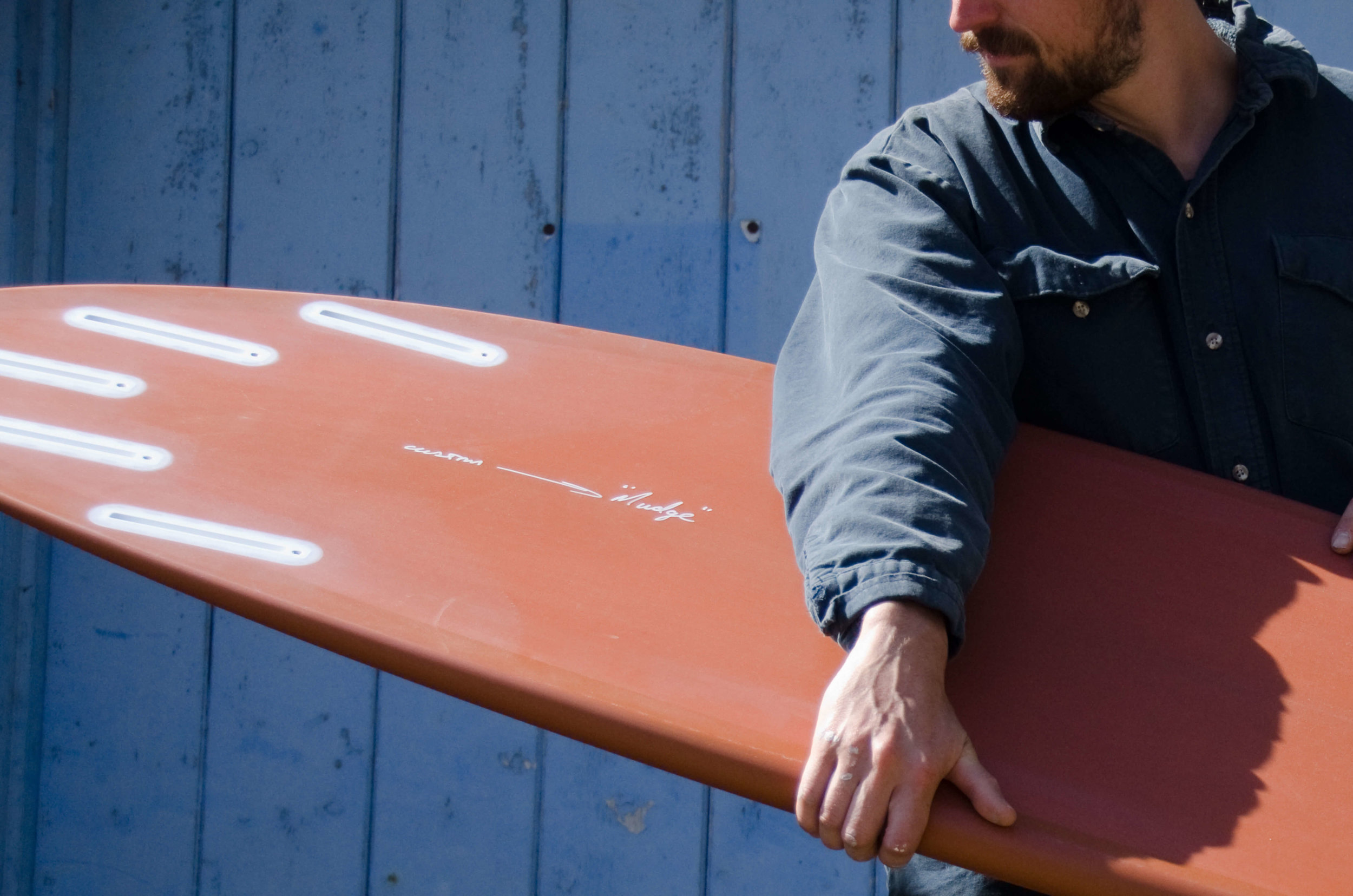 """The boards come from the people that know us best and we've built Roma to give you a starting point.Through some of the best craftsmen in the UK and a constant loop of feedback we have a tight quiver that showcases talent and creates infinite possibilities. - """"When you get to know a shaper you can recognize their work. There are elements of a board you see again and again and you trust them to be there next time. You can experiment with a point of reference""""."""