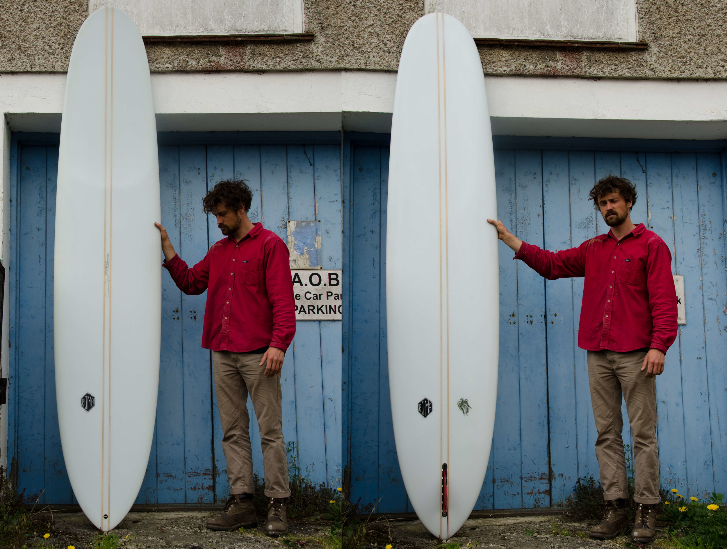 It's something that's lost when buying a board with the click of a button from a big label made by a ghost shaper. It's not a slant on anyone's ability just a disconnect from quite a personal experience. -