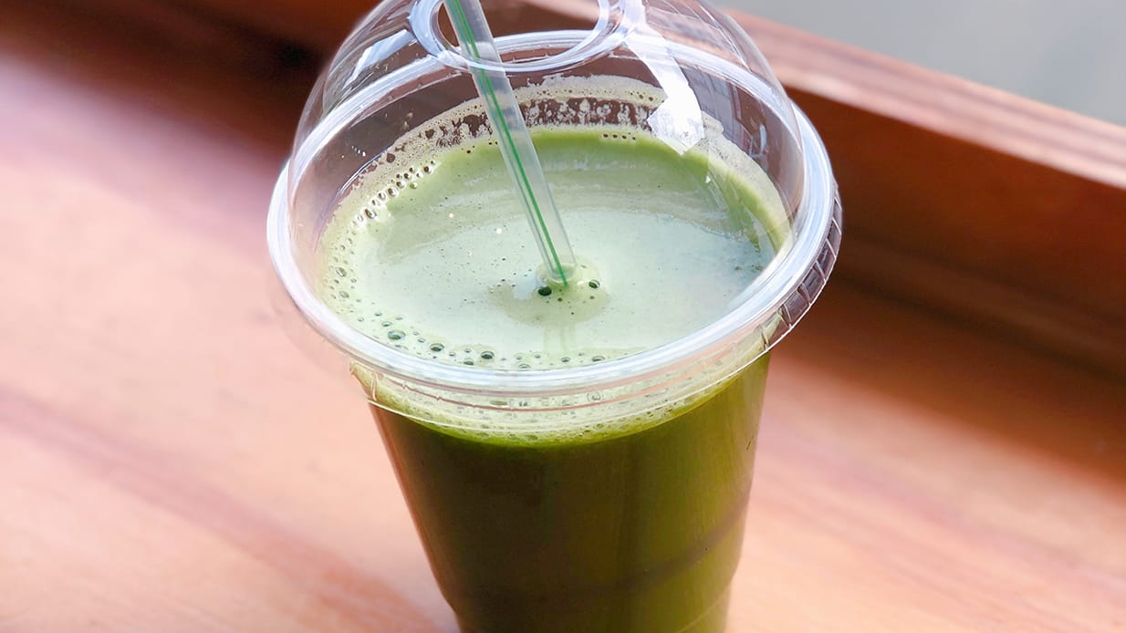THE DAY-TO-DAY SMOOTHIE: VITAL GREEN JUICE -