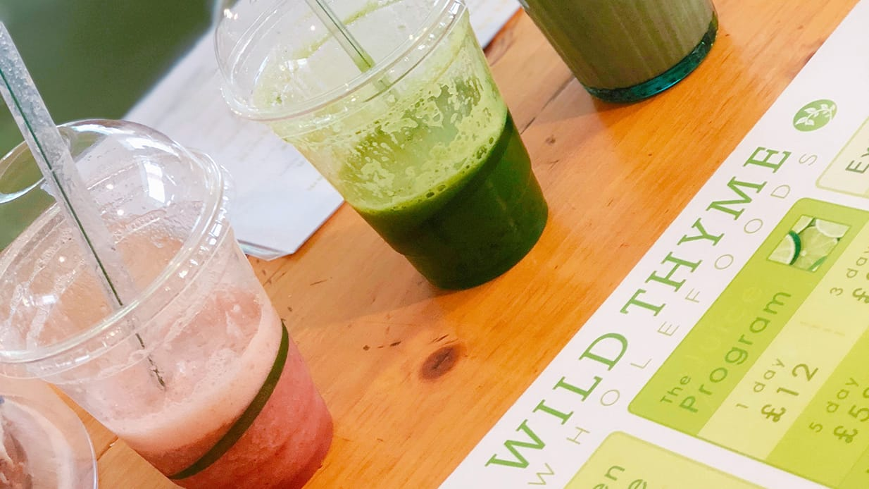 PRE- AND POST-WORKOUT SMOOTHIES, AND A DAY-TO-DAY JUICE -