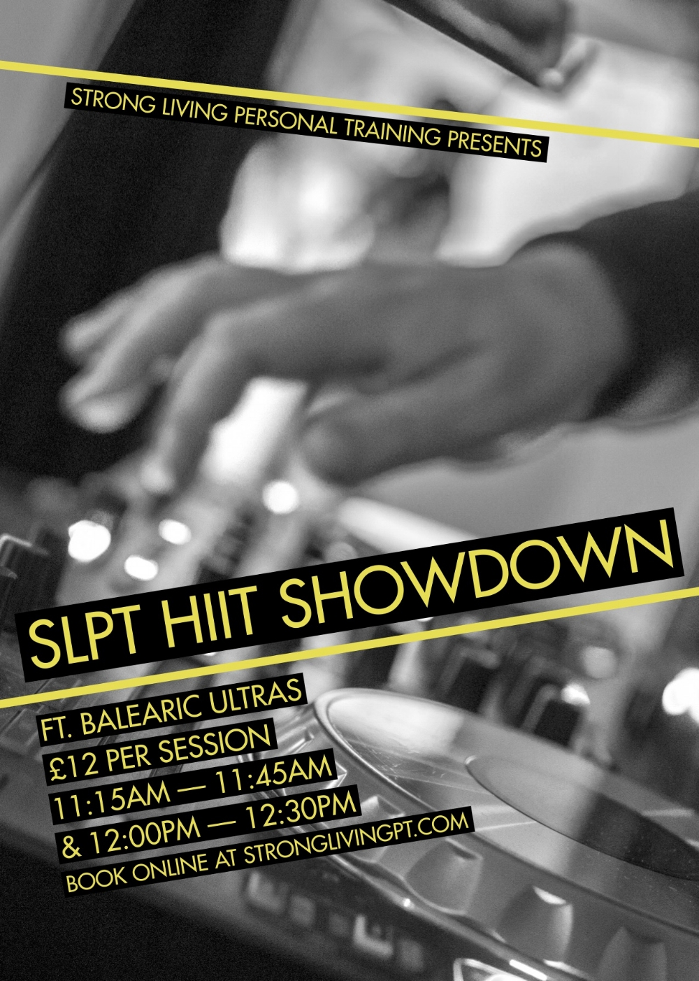 DJ HIIT SHOWDOWN