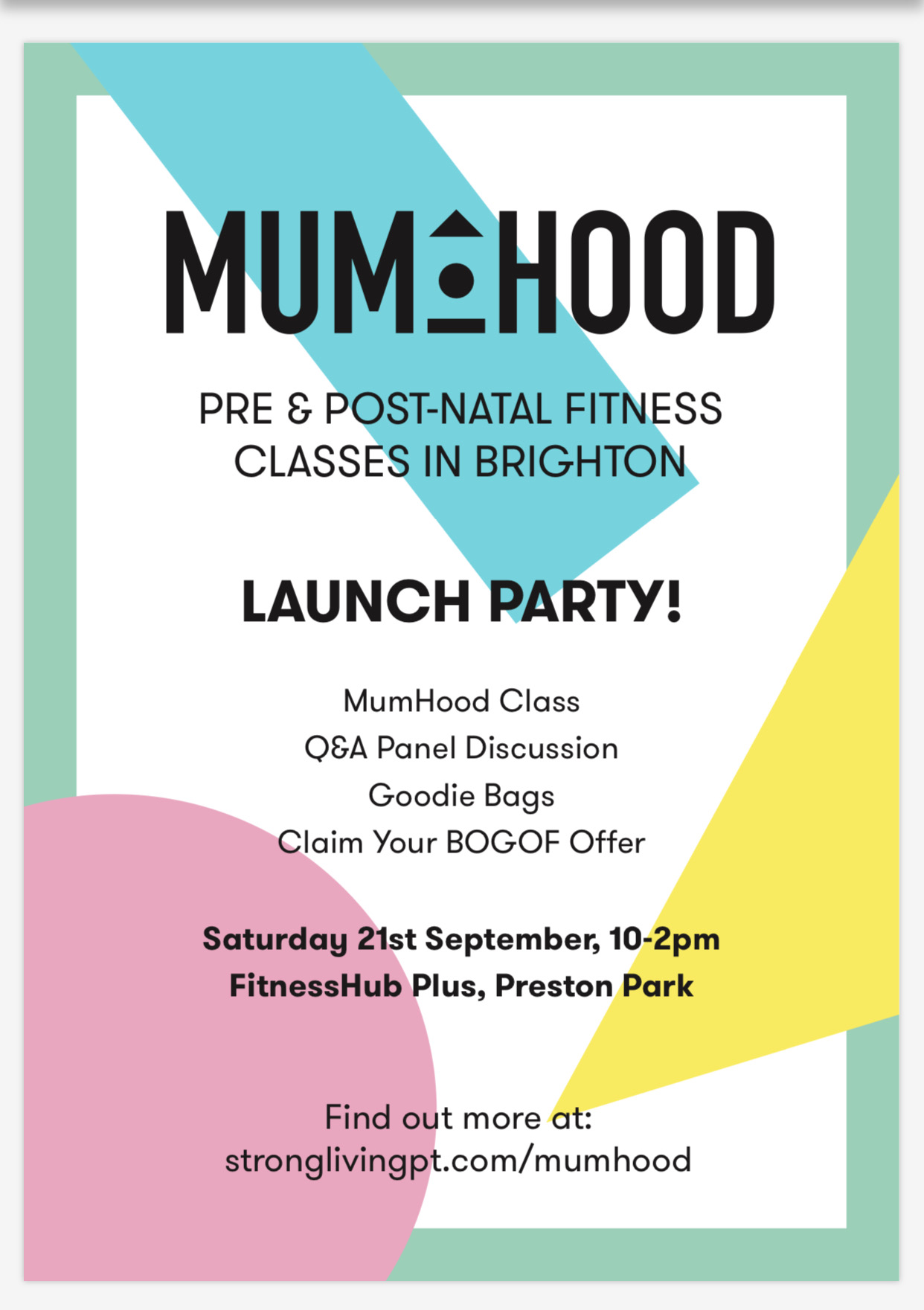 Mumhood launch party