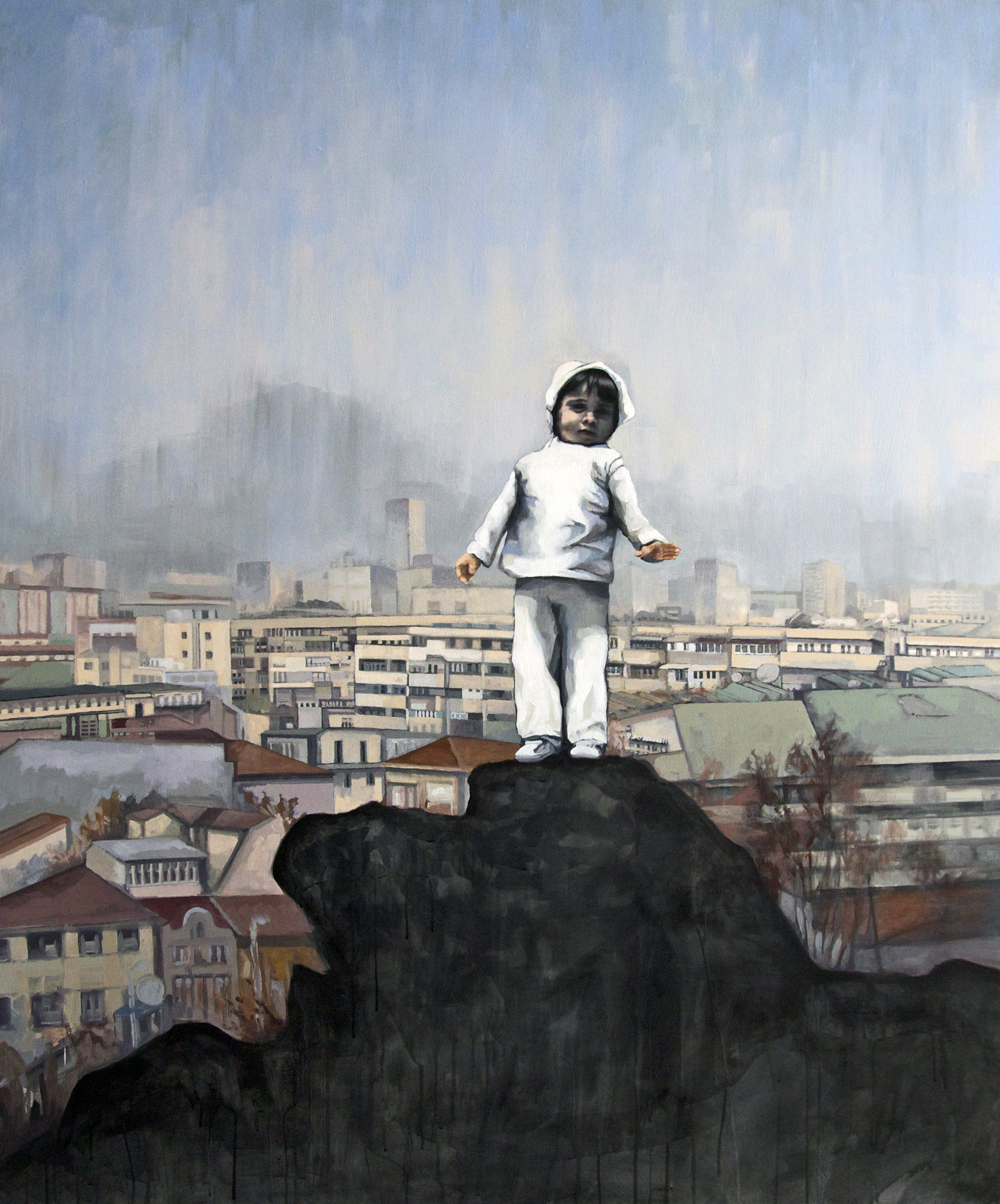 The Wanderer Over the City of Plovdiv I