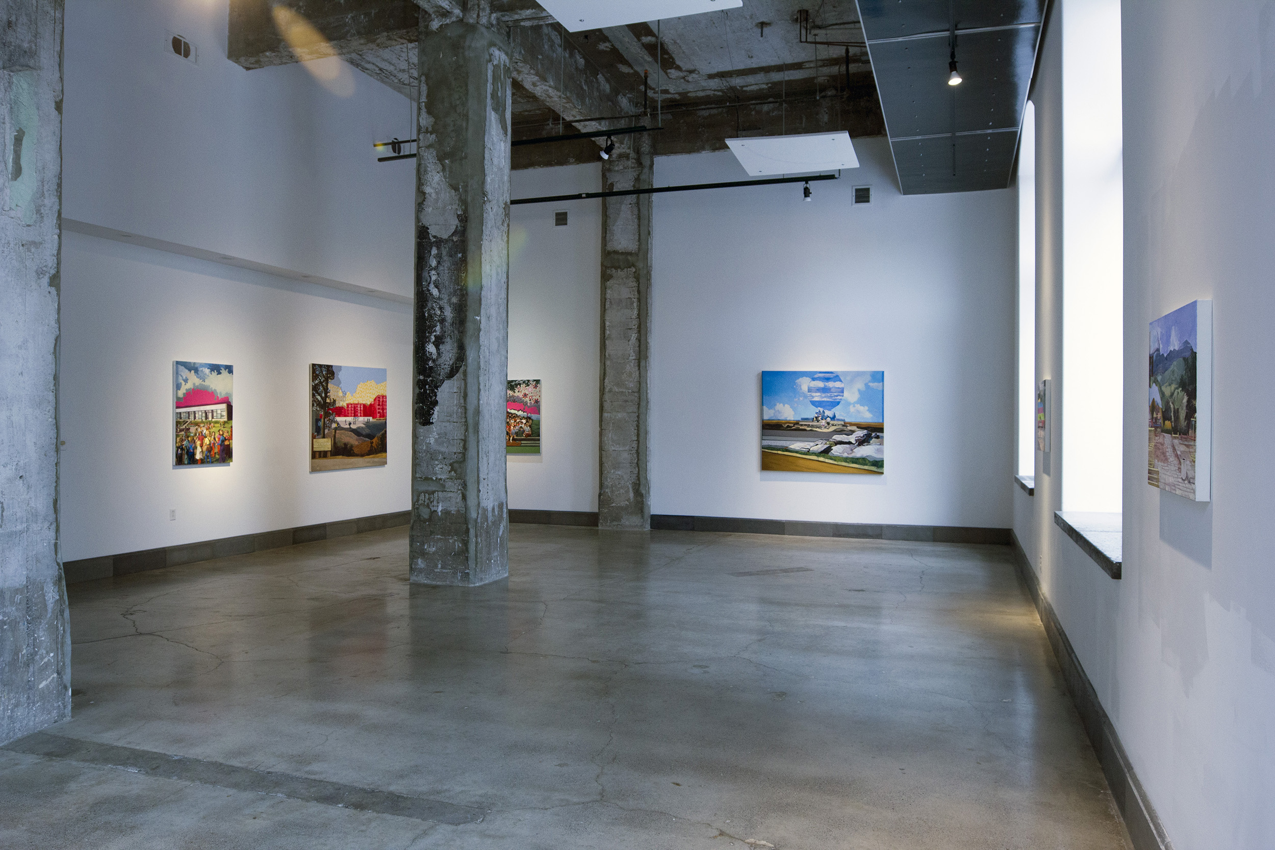 Installation View, River House Arts