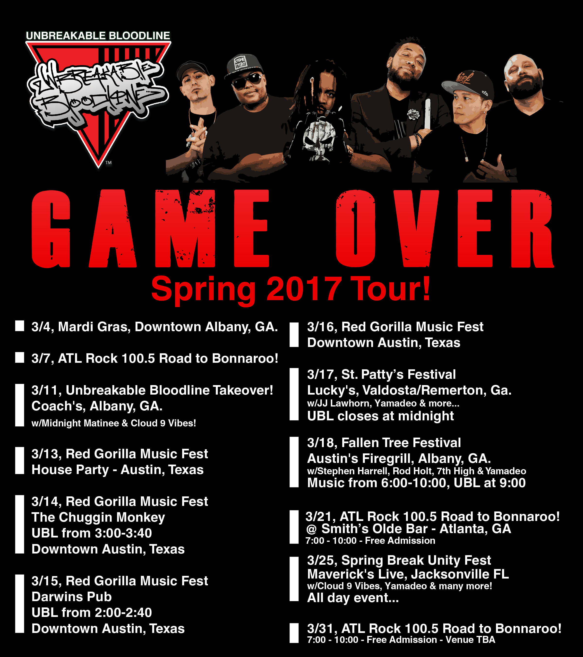 Game Over Tour