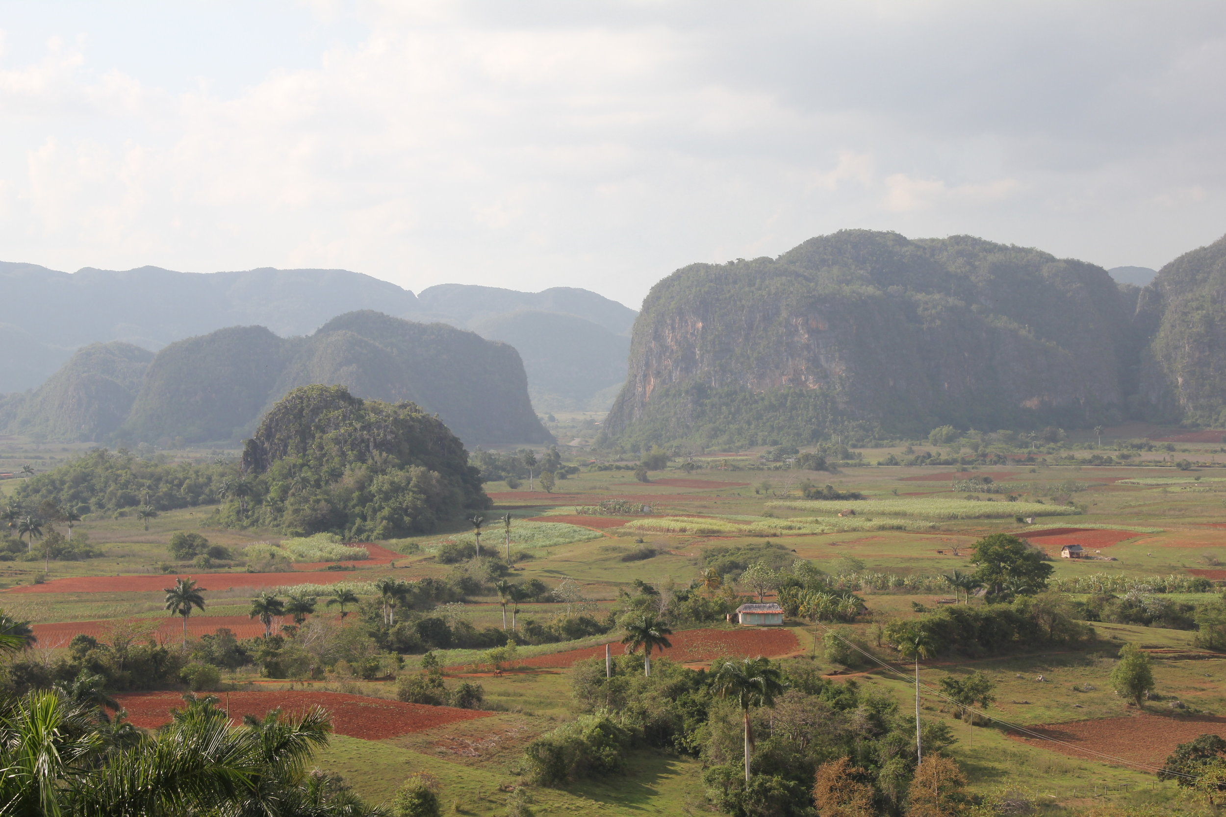 Viñales - Green lush valleys and a UNESCO World Heritage Site. This is traditional Cuba at it's best.