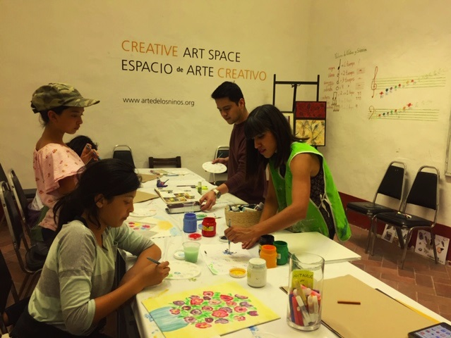 Creative Space at the Bellas Artes