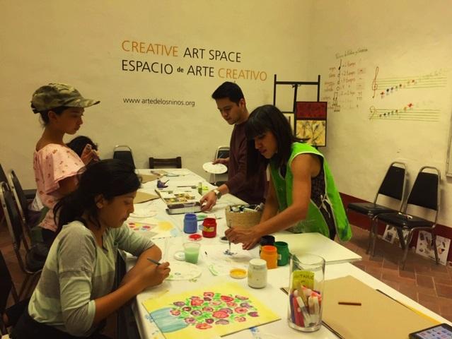 Creative Space at the Bellas Artes