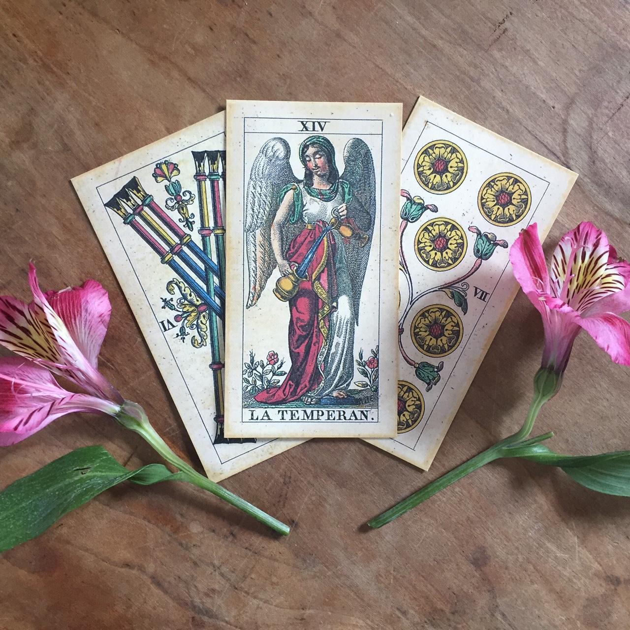 Cards:  Il Meneghello's  Soprafino Tarot
